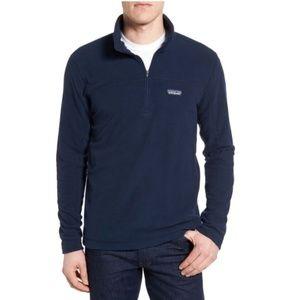Patagonia Men's Micro D Fleece Pullover- Navy- S